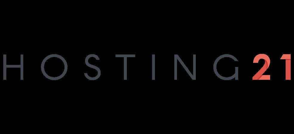 Cloud Hosting logo white